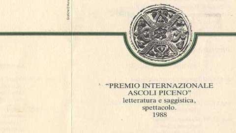 1° Premio Internazionale Ascoli Piceno