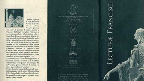 """Lecturae Francisci"" IV anno"