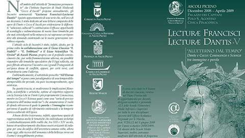 """Lecturae Francisci – Lecturae Dantis"
