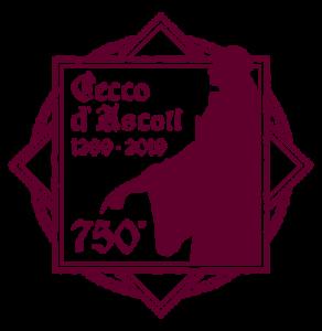 logo 750° anniversario nascita cecco D'Ascoli