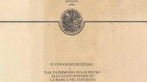 Dal Patrimonio di San Pietro allo Stato Pontificio. La marca nel contesto del potere temporale
