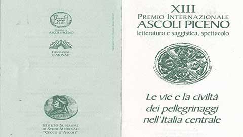Le vie e la civiltà dei pellegrinaggi nell'Italia centrale